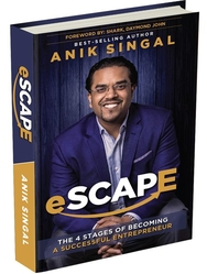 Esacpe by Anik Singal Comments by Jon from Moore Income Blog
